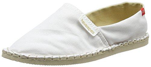 Havaianas Origine III Unisex-Erwachsene Espadrilles,Weiß (White 0001), 38 EU (36 Brazilian) (Espadrilles Schuhe Canvas)