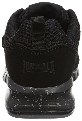 Lonsdale Novas, Scarpe da Corsa Donna Black (Black)