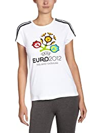 adidas U36134 FIFA T-Shirt pour femme Blanc Taille S