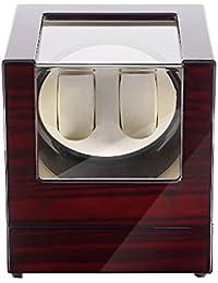 Caja giratoria para Relojes automatico Watch Winder Madera de Almacenamiento 2 Reloj de Pulsera