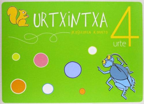 Urtxintxa 4 urte - Ikaslearen karpeta por Batzuen artean