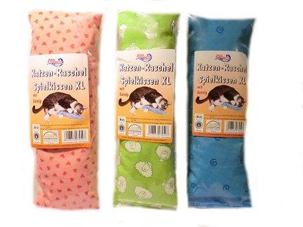 Spielkissen/Schmusekissen für Katzen XL 1 Stück verschiedene Designs