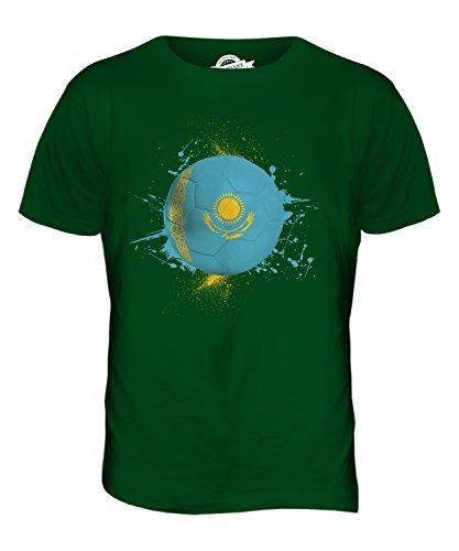 CandyMix Kasachstan Fußball Herren T Shirt Flaschengrün