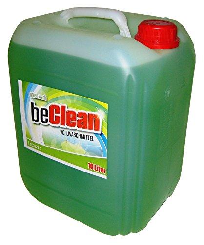 Flüssigwaschmittel beclean green wash 10 Liter Kanister Vollwaschmittel