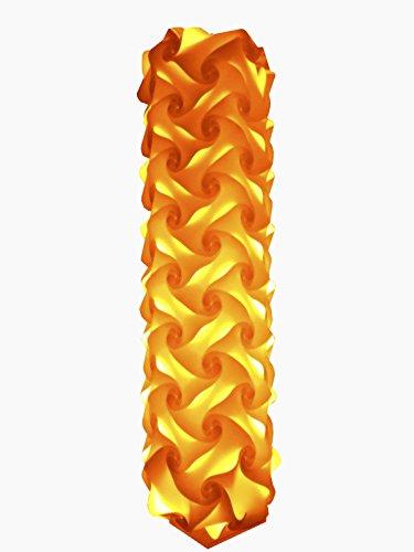 Lichtsäule Venedig , Höhe 90cm , Breite 30 cm , inkl. 16 Farben LED Farbwechsler mit Infrarot Fernbedienung , 85-240Volt , Fassung E 27
