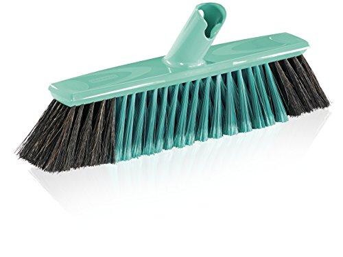 Leifheit 45033-Escoba para parquet, 30 cm, Negro, Xtra Clean