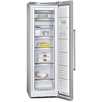 Siemens iQ500 GS36NAI31 Gefrierschrank / A++ / Gefrierteil: 237 L / Edelstahl / Inox-AntiFingerprint / NoFrost / MultiAirflow-System