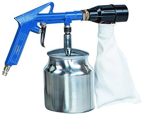 Scheppach Druckluftsandstrahlpistole-Set, 3-4 bar, 1 Stück, blau / schwarz / weiß, 7906100720