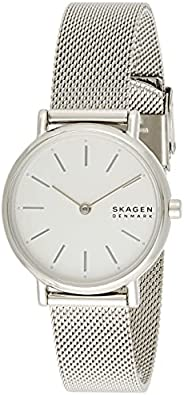 Skagen Signatur Women's White Dial Stainless Steel Analog Watch - SKW