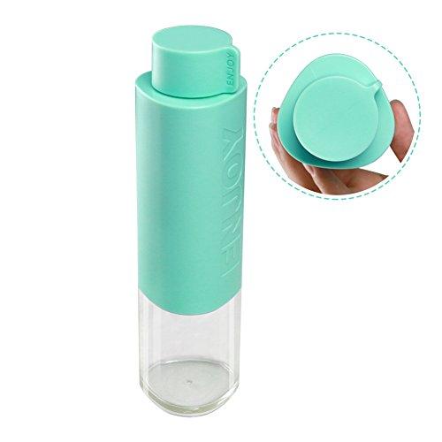 Plastico Botella Agua Deporte 530ML (Green)