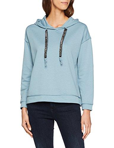 s.Oliver Damen Sweatshirt 14.808.41.3748, Blau (Steel Blue 5235), 40