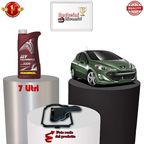 KIT FILTRO CAMBIO AUTOMATICO E OLIO 308 1.6 GTi 147KW 200CV 2012 -> 1712