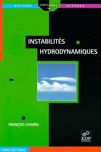 Instabilité hydrodynamiques par François Charru