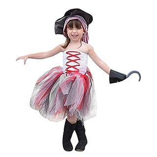 LSAltd Kleinkind Kinder Baby Mädchen Halloween Kalte Schulter Bunte Tüll Tube Tops Party Prinzessin Kleid