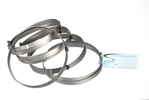 Preisvergleich Produktbild 5er SET Metallsägeband Bi-Metall M 42 Abmessung 1440x13x0,65 mm 10/14 ZpZ z.B. für FEMI NG120XL , ABSNG120 , 784 XL , 784, Berg & Schmid TBS 102, Alfra , Flott , Metallkraft