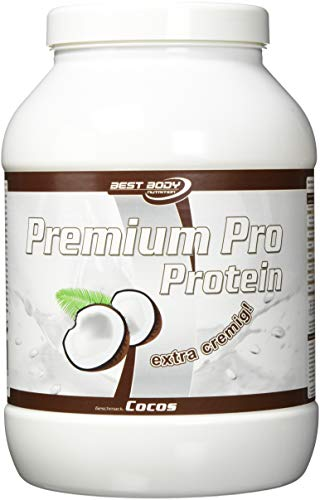 Best Body Nutrition Premium Pro Protein, Cocos, 750 g Dose