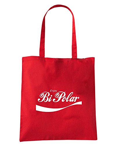 T-Shirtshock - Borsa Shopping ENJOY0021 enjoy bi polar Rosso