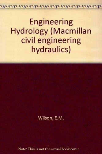 Engineering Hydrology (Macmillan Civil Engineering Hydraulics)