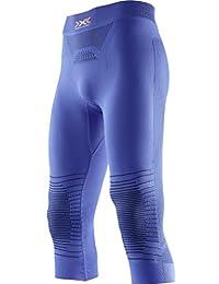 X-Bionic Running Speed Evo OW sh-sl, Camiseta para mujer, mujer, O100941, Insignia Blu/Giallo, Small amazon el-azul Deportivo