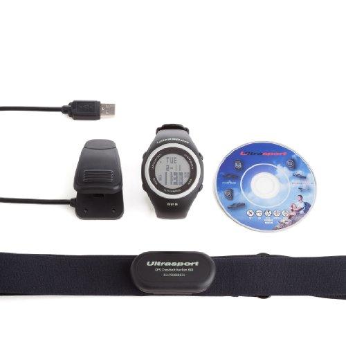 41urrPN1RlL. SS500  - Ultrasport NavRun 600 GPS Heart Rate Monitor with 2.4 GHz Chest Strap