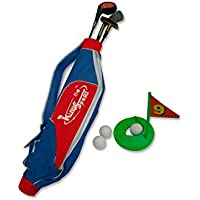 TOYLAND Plast GS1801 - Conjunto de Golf Tiger Clubes 3, accesorios y correa para el hombro para Niños