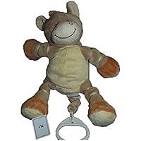7e4089af380f Bengy - Doudou Bengy zebre marron beige orange 27cms musical - 536