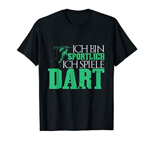 Darts Sport Pfeil 180 Dartscheibe Sportlich Kneipensport T-Shirt