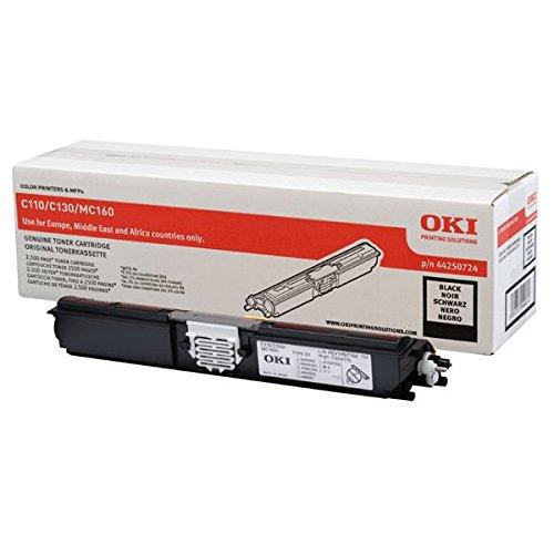Preisvergleich Produktbild OKI 44250724 C110 Toner, ISO / IEC 19752, 2500 Seiten, schwarz