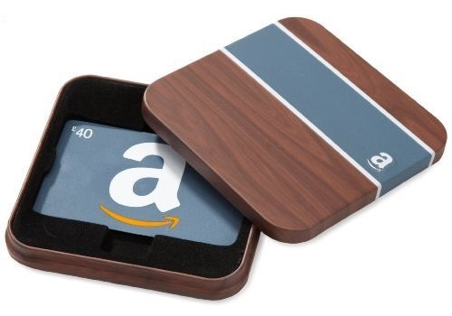 Amazon.co.uk Gift Card - In a Gift Tin - �40 (Brown)