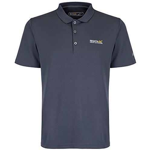 Regatta Maverik III Herren Polo Shirt grau