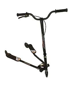 Street Blaze Scooter ® - Trottinette à mouvement perpétuel - Trottiner comme à ski - A partir de 9 ans