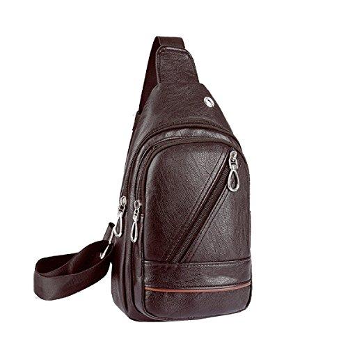 Männer Mode Brustbeutel Freizeit Outdoor-Reisetasche D