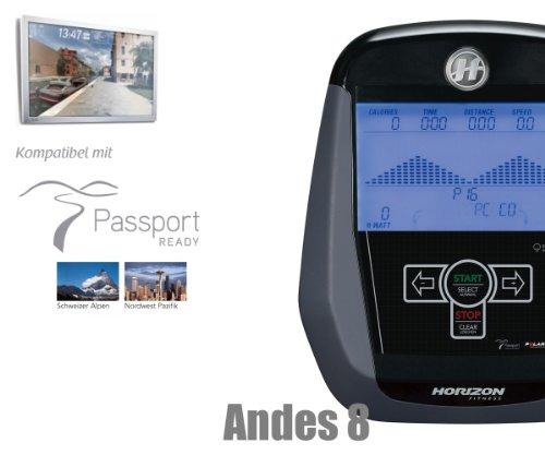 Andes 8i Crosstrainer Horizon Fitness – Modell 2013/ 2014 - 2