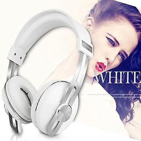 Wkae Kanen IP-2030 fascia Headset Wired Retro stereo Cuffia Musica