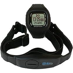 GPS Pulsuhr mit Brustgurt   Wasserdicht   Trainigscomputer mit Modus- und Profileinstellungen   3 Navigationsmodi   Herzfrequenzmessung   inkl. PC Software   Kompassfunktion & Displaybeleuchtung