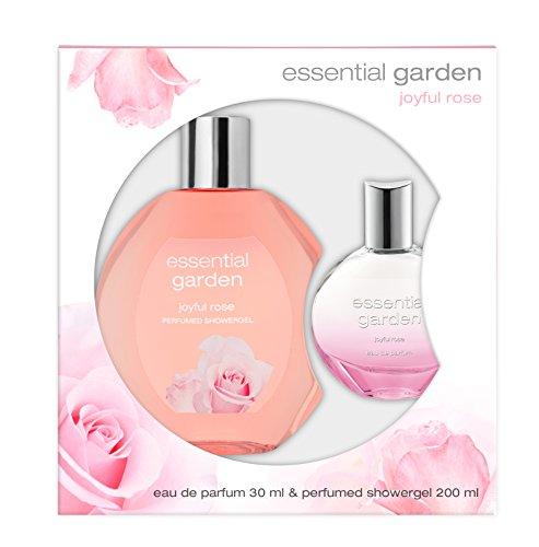 Essential Garden Joyful Rose EdP + Showergel, 1er Pack (1 x 30 ml) - Essential Garden