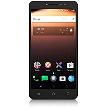Alcatel A3 XL Smartphone (6 pulgadas, 16 GB de memoria, Android 7.0), Color Negro