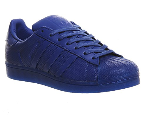 adidas Superstar, Baskets Basses Mixte Enfant Bleu