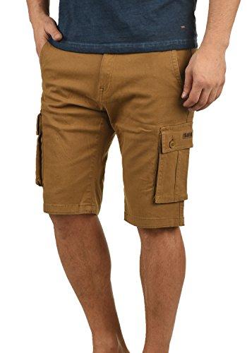 !Solid Laurus Herren Cargo Shorts Bermuda Kurze Hose Aus 100% Baumwolle Regular Fit, Größe:XL, Farbe:Cinnamon (5056) Fashion Solid Slim Short