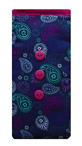 Violet Paisley Imprimer Imprimer Apple iPod Socks - DiffŽrentes tailles