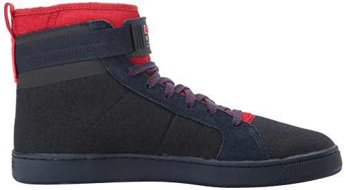 Puma Rbr Cups Mid, Bout Fermé Homme Total Eclipse-chinese Red