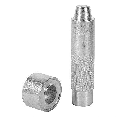 Craft Hole Leder Leder Werkzeug Öse Perforation Instrument für Bekleidung Stoff, Klebeband 2000#