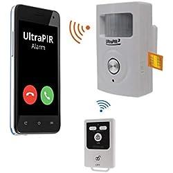 Alarme GSM 3-en-1 sans-fil autonome - UltraPIR 3G + 1 télécommande nouvelle génération (gamme BT)