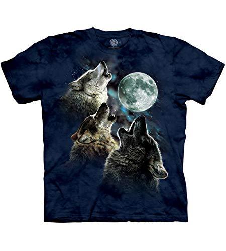 The Mountain Unisex-Erwachsene Peace Tie Dye Adult, Green, 4XL T-Shirt, blau, 5X-Large -