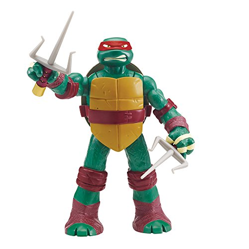 Giochi Preziosi - Turtles Head Dropping Raffaello Personaggio Gigante, Alto 30 cm