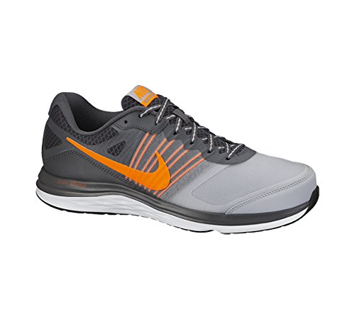 New Dual Fusion X Running Shoe Dark Grey/White/Total Orange