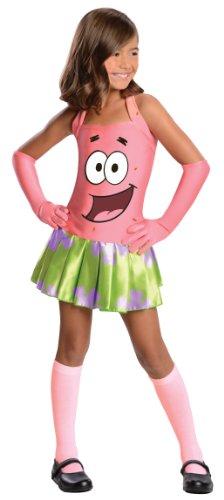 SpongeBob Squarepants Girl's Patrick Costume, Large