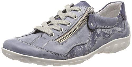 R3416 Damen Remonte SneakerBlaujeansjeanssilver Eu 1440 UzMqSpV