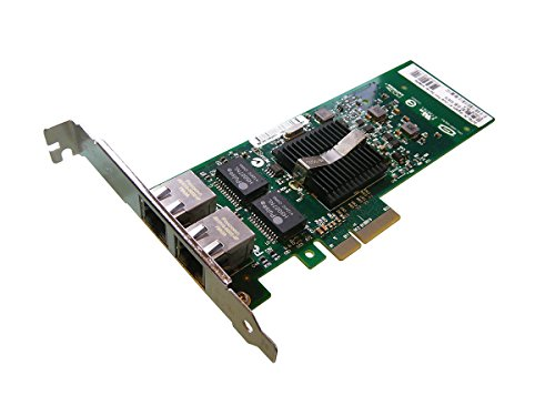 Kalea Informatique Kontroll-Karte, 2 Ports Gigabit Ethernet auf Port PCI 4, für PC oder Server, Chipset Intel 82575 (Penny-treiber)