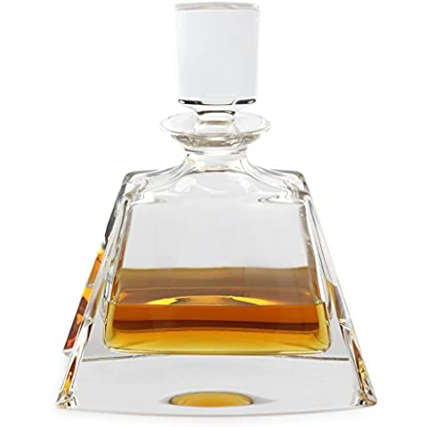 A.P. Donovan - Whisky-Karaffe - Whiskey-Karaffe-Set / Dekanter- Geschenkidee für den Mann - 500ml - Trapeza